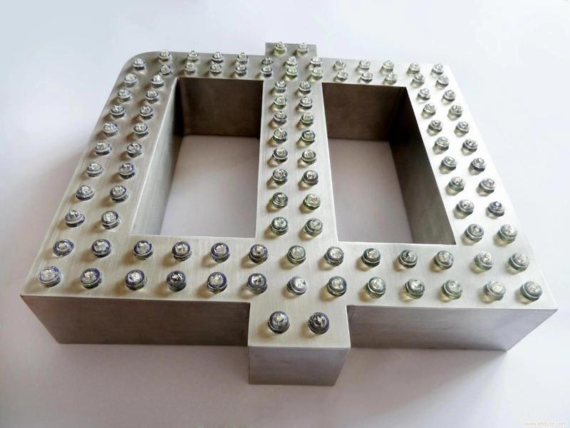 不銹鋼沖孔字